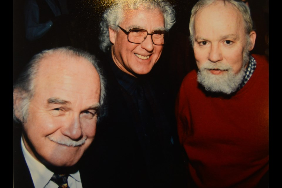 Terry Doyle, left, with other members of the Guelph Little Theatre. Submitted photo