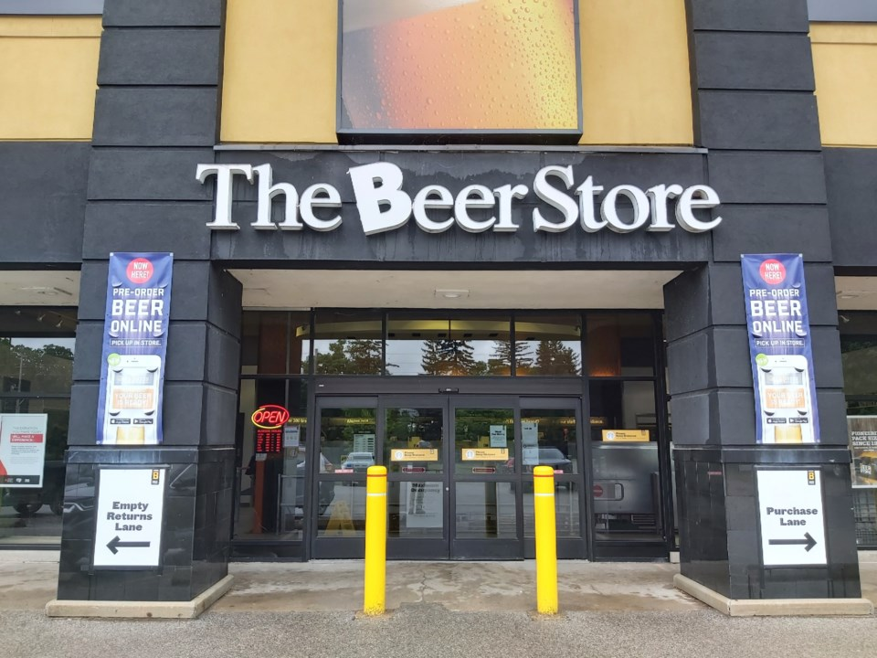 20210528 Woolwich St Beer Store Guelph RV