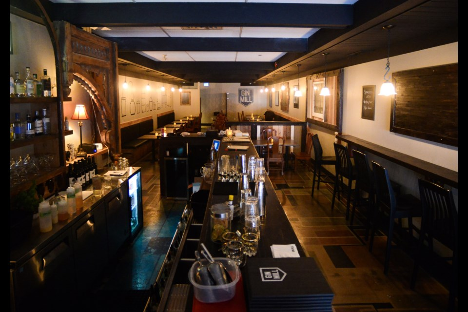 The Gin Mill recently opened on upper Wyndham Street. Tony Saxon/GuelphToday