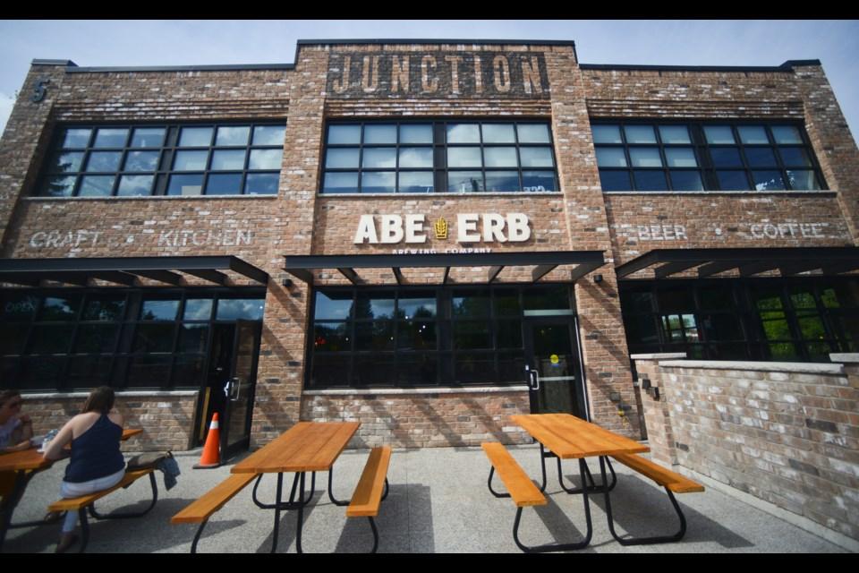 Abe Erb opened Monday on Edinburgh Road. Tony Saxon/GuelphToday