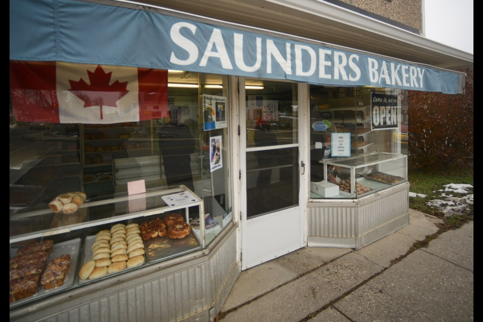 Saunders Bakery opened in 1914 and has remained in the same location since then. Tony Saxon/GuelphToday