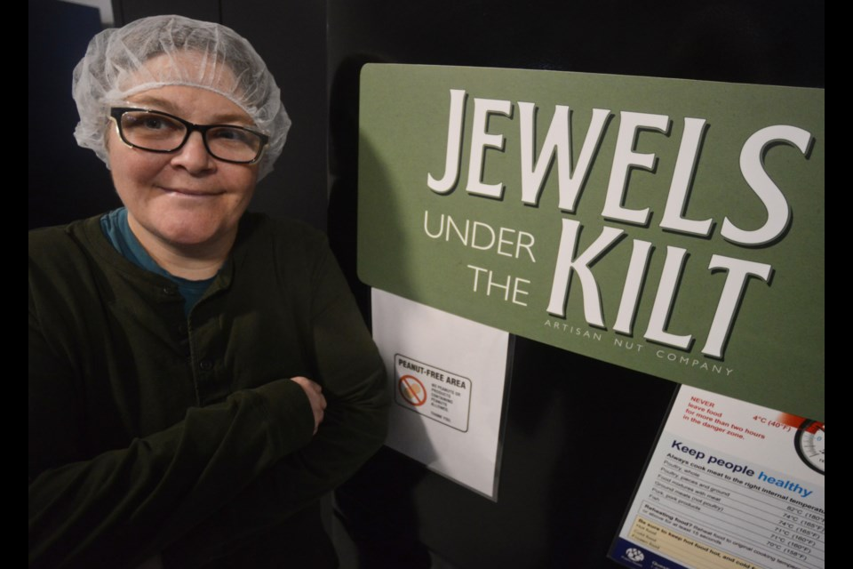 Elisabeth Burrow, creator and owner of Jewels Under the Kilt, an artisan nut company located just outside Fergus. Tony Saxon/GuelphToday