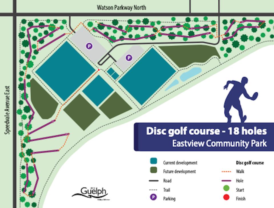 2021-02-18 - Guelph Disc Golf