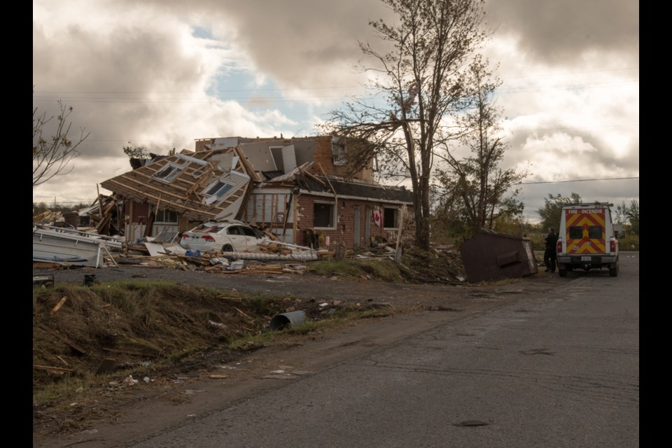 Dunrobin area, near Ottawa. Many homes will be demolished. Photo courtesy of Philip Maher