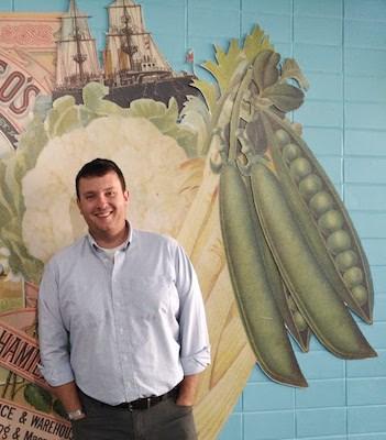 Guelph food entrepreneur Ben Cullen. Photo courtesy Cullen's Foods