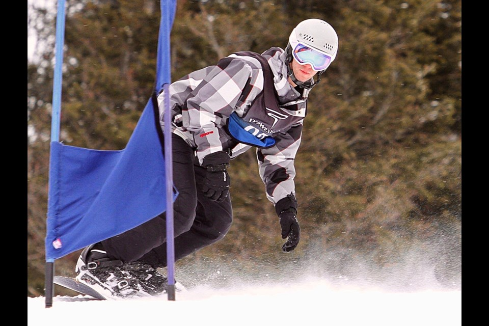 James Brunner in action. The Guelph native will be representing Canada at the Deaflympics in Italy. Submitted photo