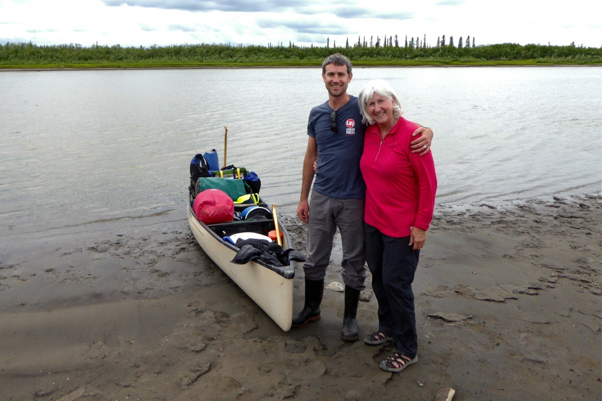 A mother and son share a magical, and challenging, canoe journey