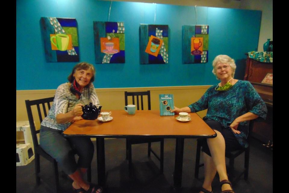 Judith Eden and Marion Reidel. Barbara Geernaert for GuelphToday