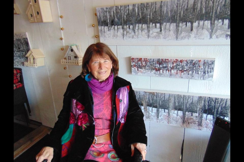 Sharyn Seibert at home. Barbara Geernaert for GuelphToday.com
