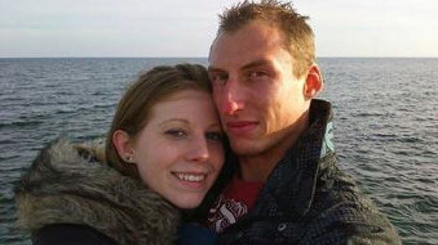 Katelyn Lindsay and her fiance Brandon Bailey. Facebook photo