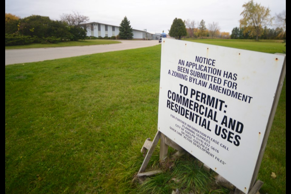 City staff is recommending approval of plans for a residential development on land surrounding the Guelph Curling Club. GuelphToday photo