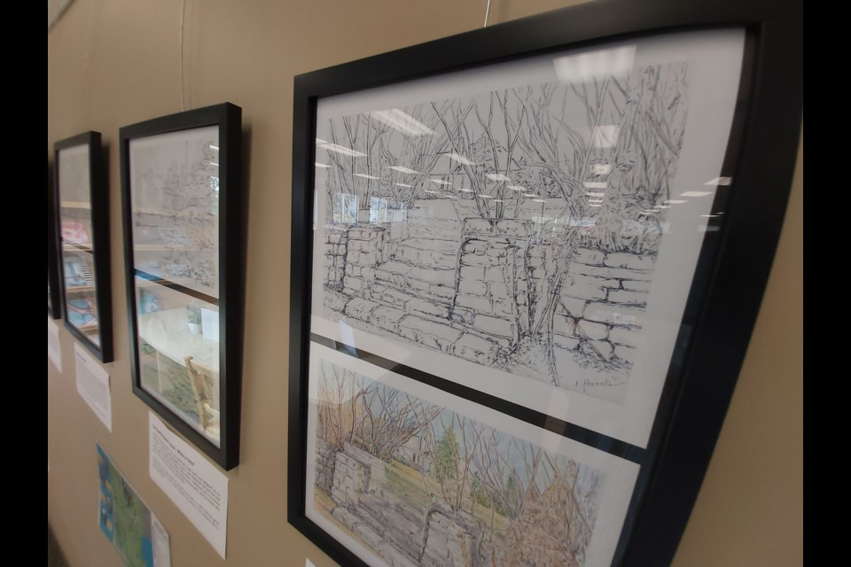"""The """"Colour Yorklands Exhibit"""" is on now and runs through the end of the month at East End Library on Starwood Drive."""