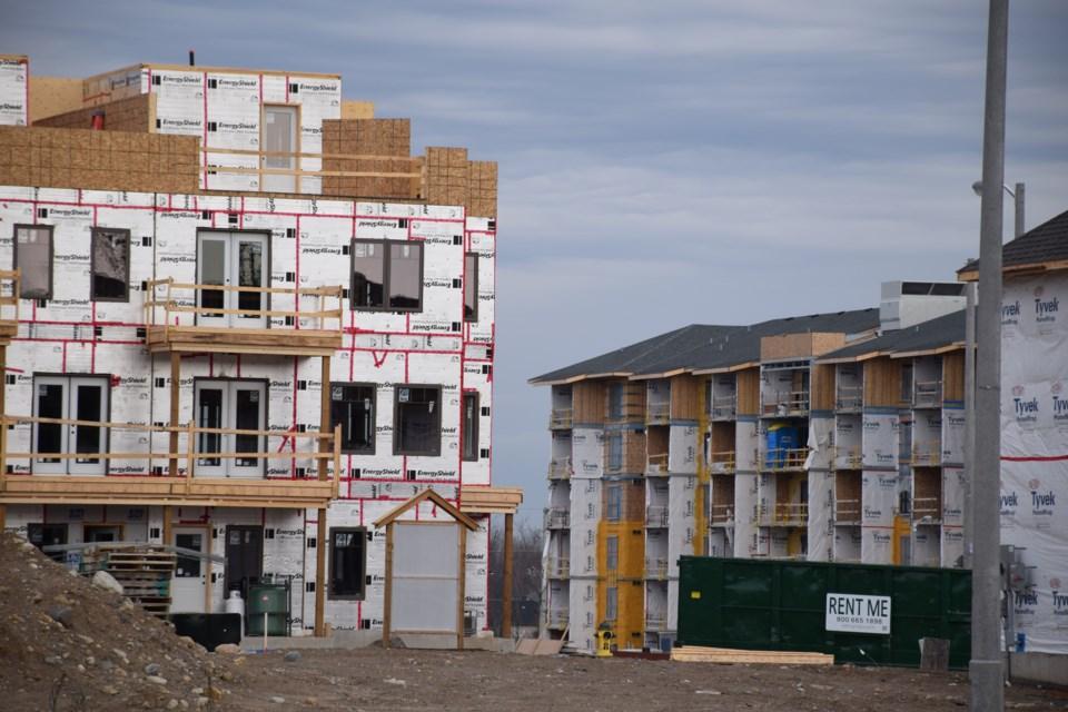 More condo apartments, Clair Road East. Rob O'Flanagan/GuelphToday