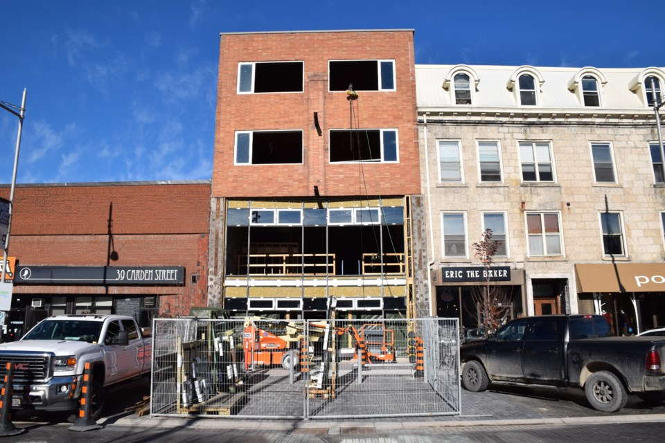 The renovation of 42 Carden has not been without complications. Rob O'Flanagan/GuelphToday