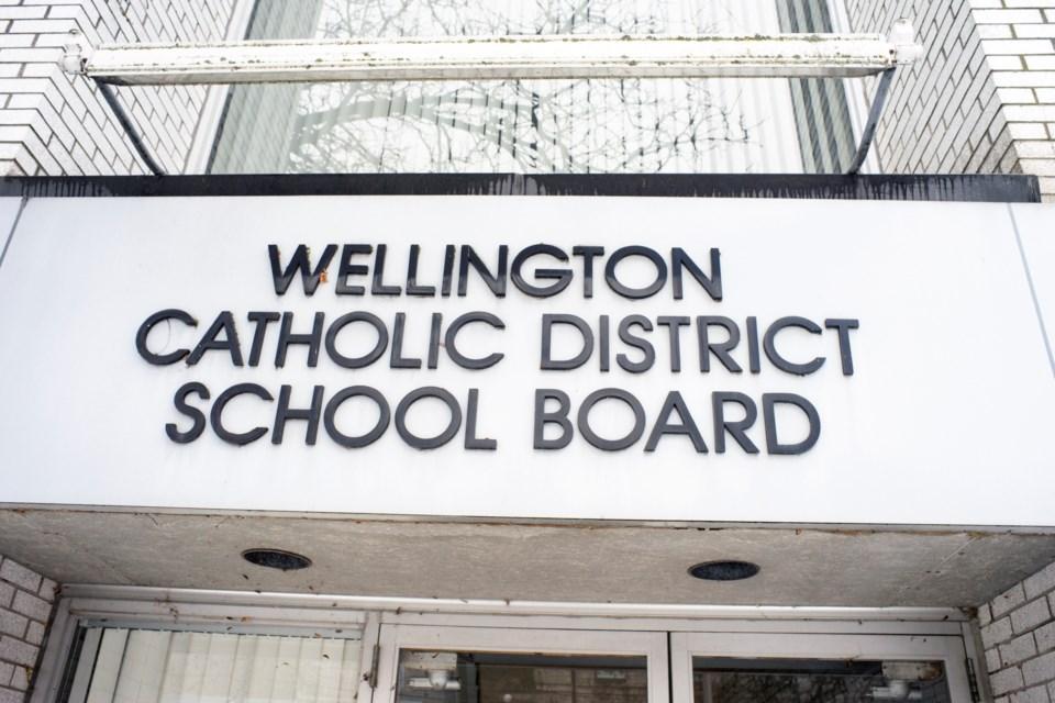 20181213 Wellington Catholic District School Board Sign KA
