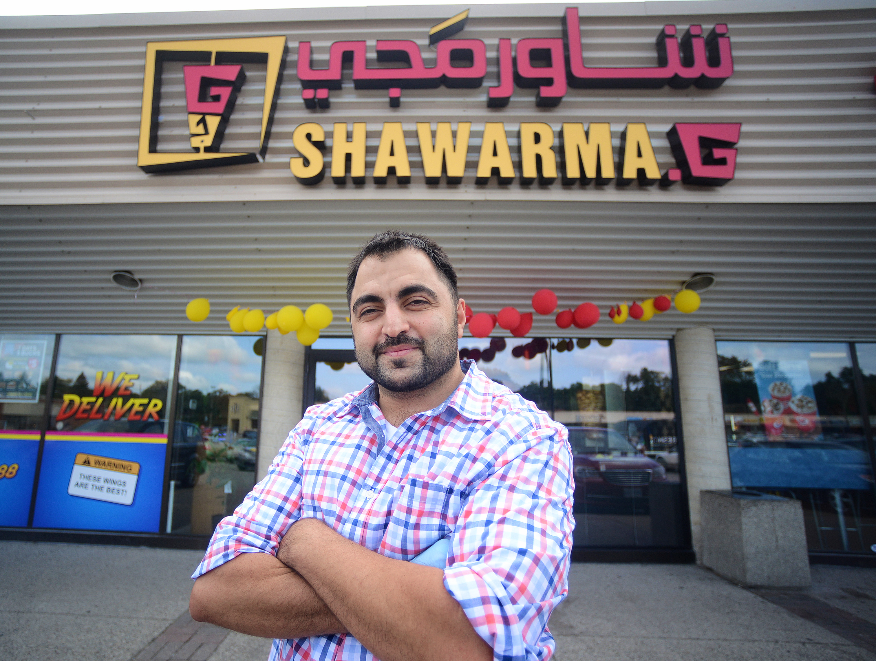 Guelph's latest shawarma restaurant owned and operated by Syrian refugees (Guelph Today, Aug 23/18).