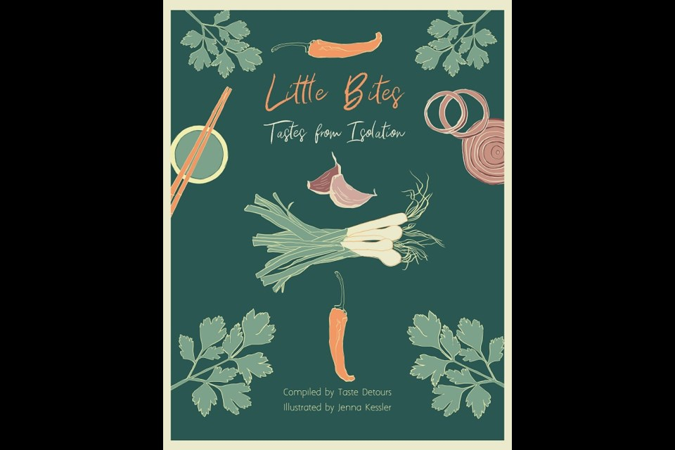 Cover page Little Bites Tastes from Isolation by Jenna Kessler