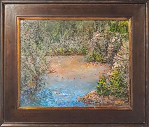 Denis Hopkins, Elora Quarry
