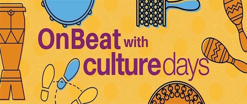 On Beat with Culture Days Banner