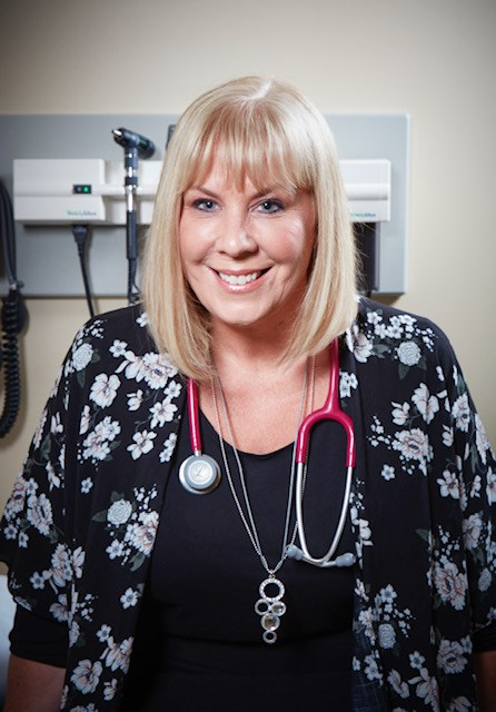 Deanna Clatworthy, clinic manager for HIV/AIDS Resources and Community Health, has been named a finalist for the Jill Sullivan Award for Excellence in Clinical Practice from the Canadian Association of Nurses in HIV/AIDS Care. Submitted photo.