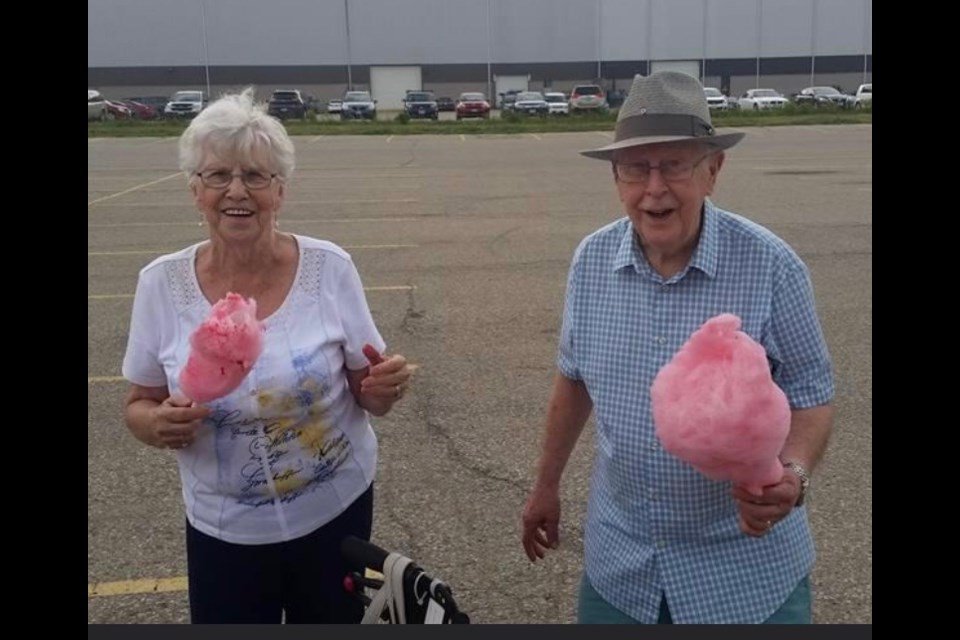 Betty and John Ware circa 2017. Submitted photo