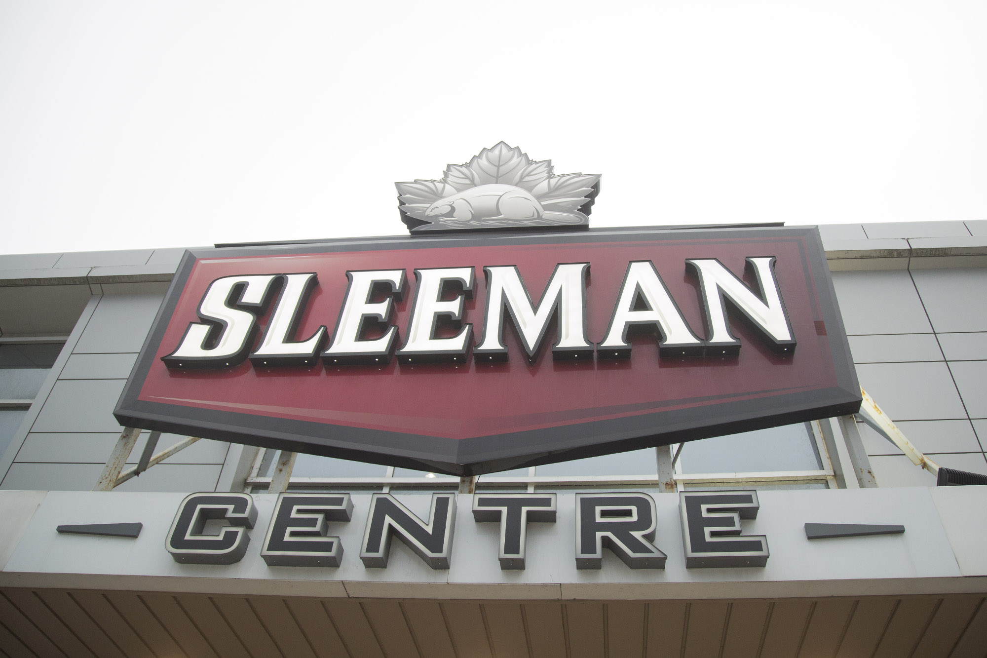Sleeman Centre naming rights up for renewal in June