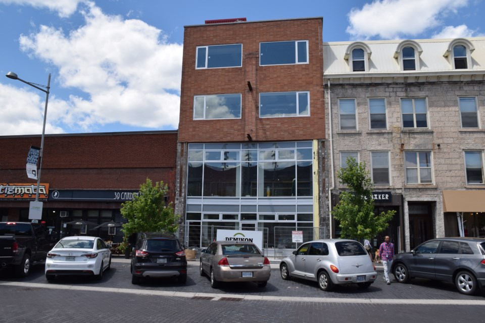 10C, Carden Street side. Chalmer Community Services and Guelph Arts Council will start moving in within a couple of weeks. Rob O'Flanagan/GuelphToday