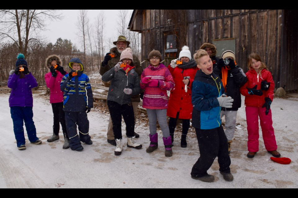 Have camera, will get outdoors. Focus on Nature's photography camps for kids during March Break have become very popular. Rob O'Flanagan/GuelphToday