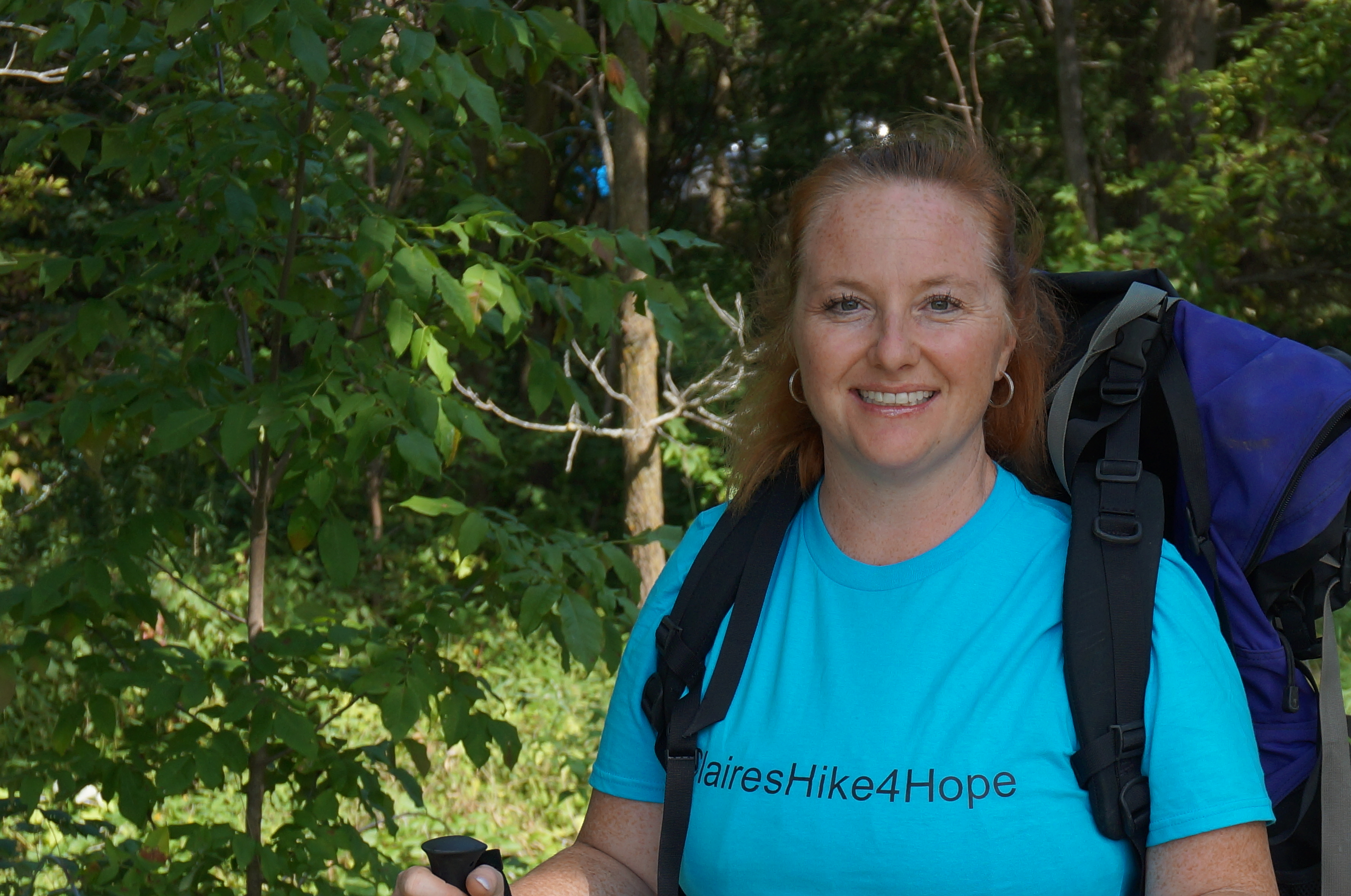 Claire plans to walk 800 kilometres to raise awareness and funds toward local suicide prevention programs