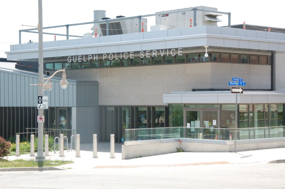 20210730 Guelph Police headquarters RV