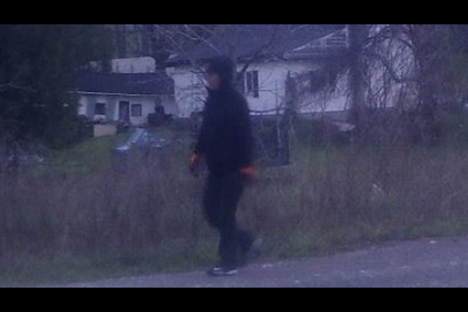 The Wellington County Ontario Provincial Police (OPP) is asking for the public's assistance in identifying a suspect that was captured on video surveillance at a business located on Highway 6 in the Township of Puslinch earlier this year. Supplied photo