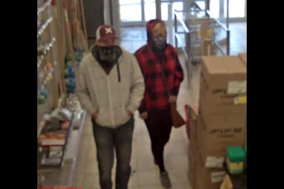 Suspects sought.