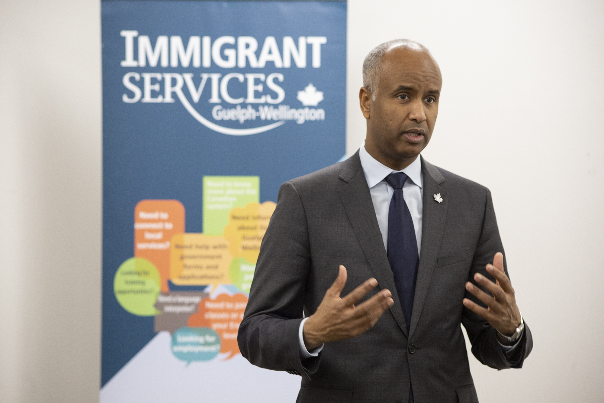 Guelph a shining example of settling and integrating newcomers to Canada: Immigration minister
