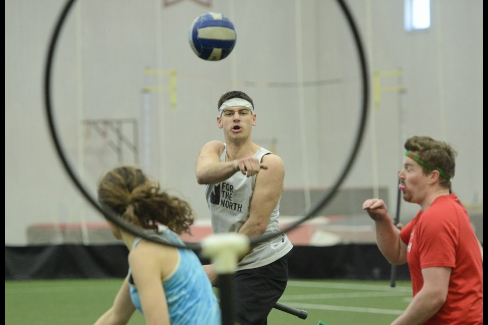 Tryouts for the Canadian quidditch national team took place at the University of Guelph on the weekend. Tony Saxon/GuelphToday