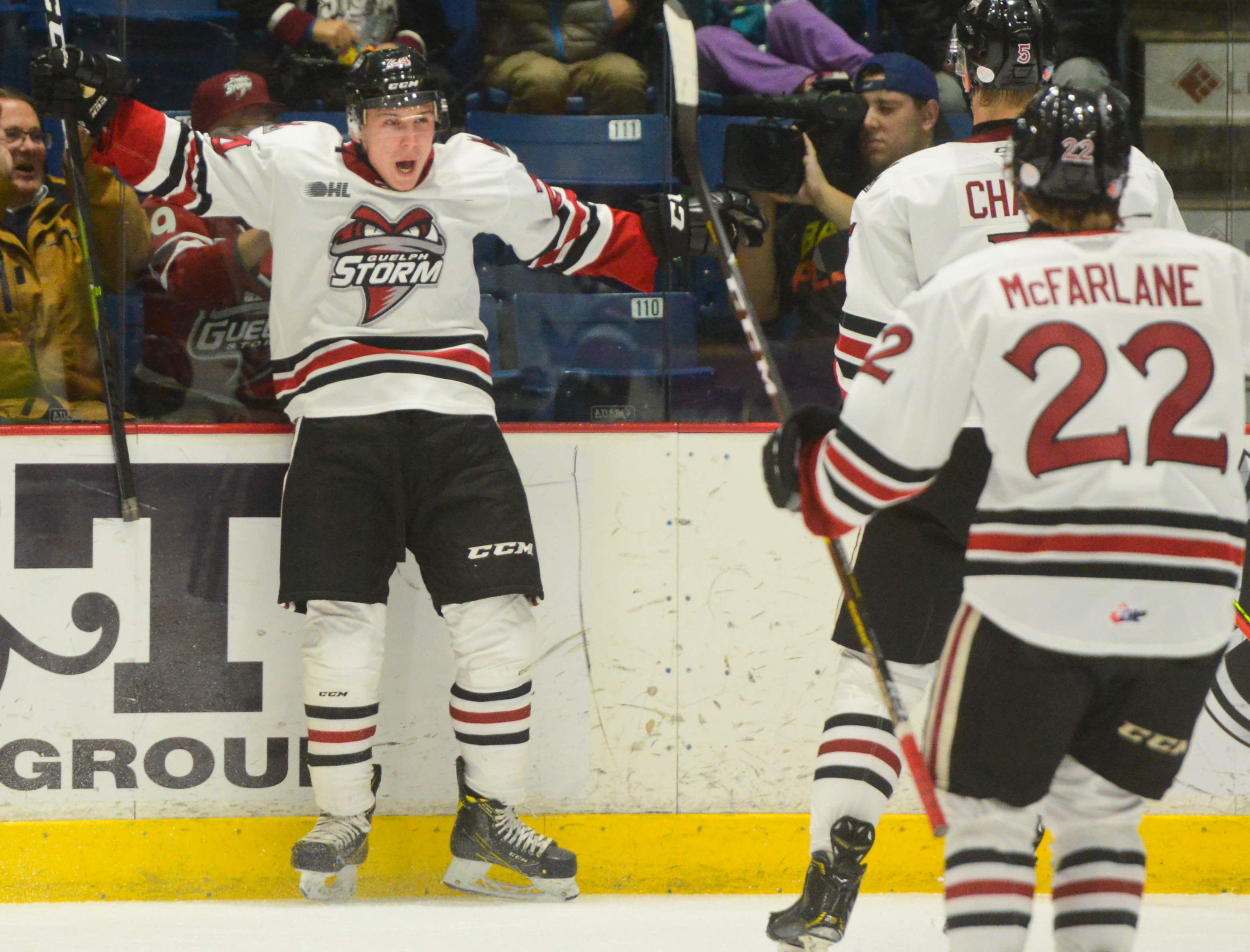 Captain Cam breaks out big time for Guelph Storm (7 photos)