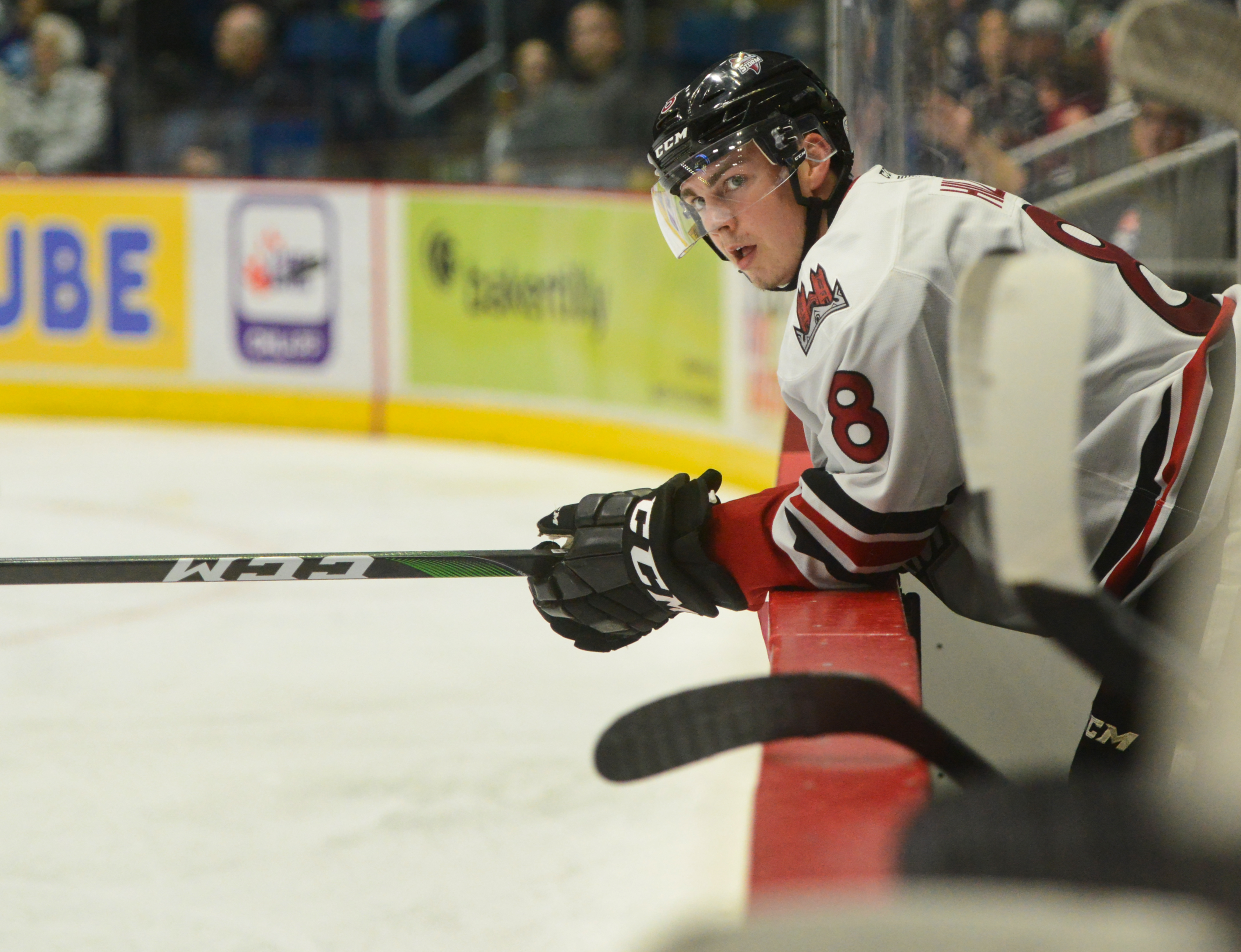 Guelph Storm with a Wednesday shootout win
