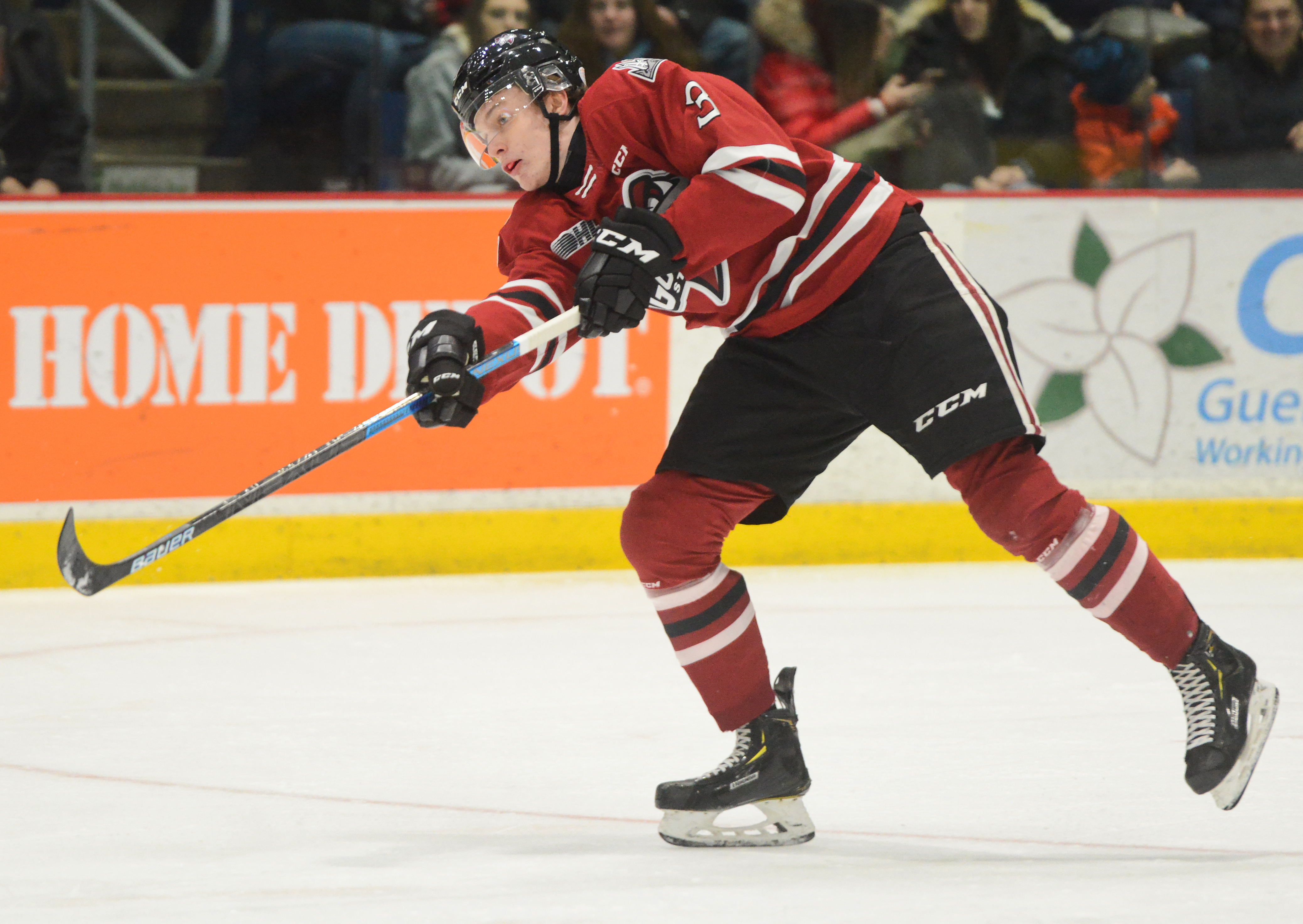 Hockey tour stops in Guelph for new Storm defenceman