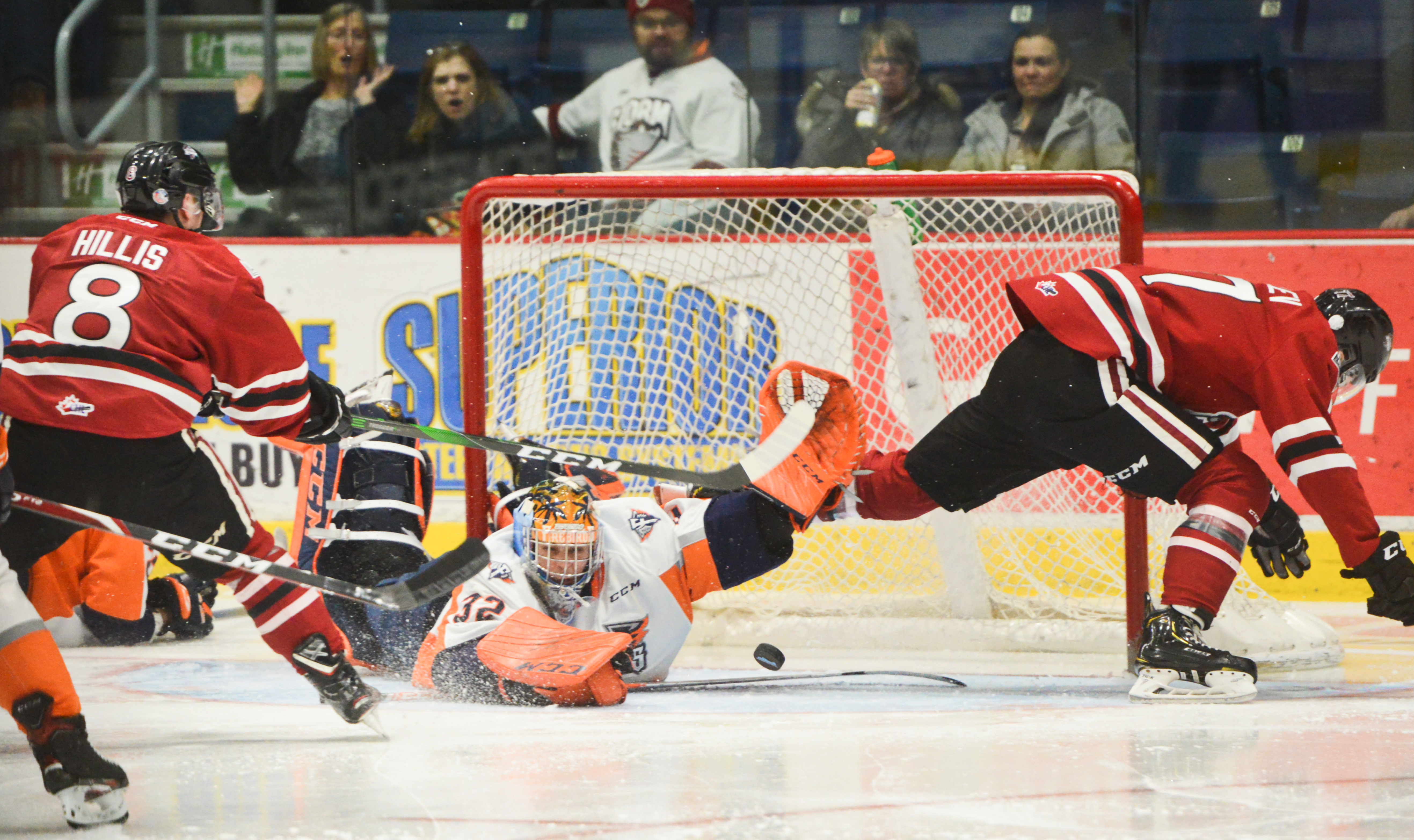 Roller coaster ride ends in eighth straight loss for Guelph Storm (8 photos)