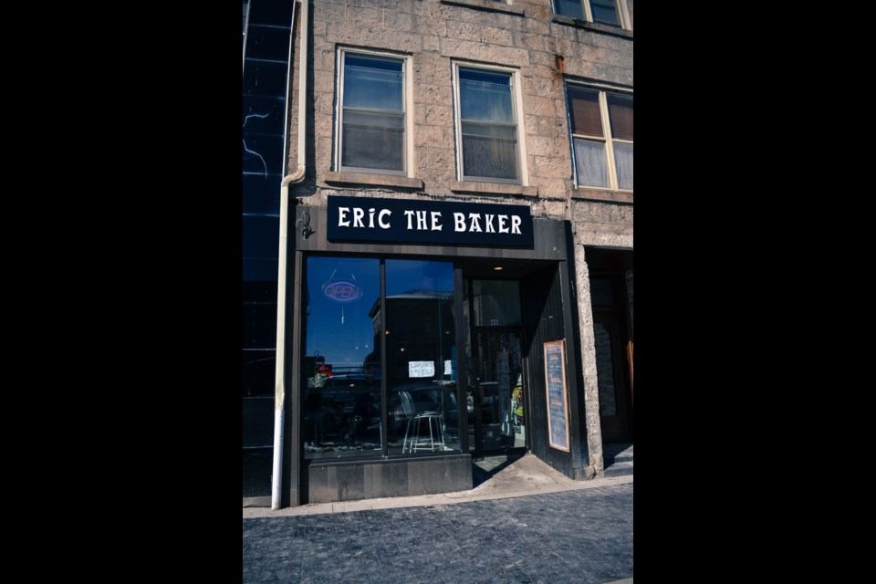 Outside Eric the Baker