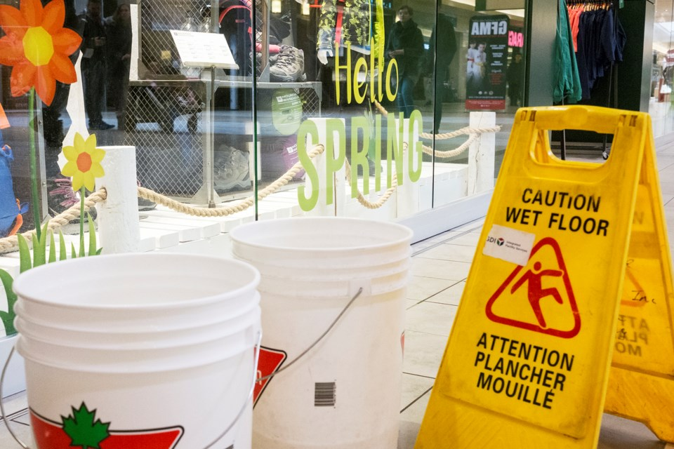 Guelph Auto Mall >> It's raining buckets at the Stone Road Mall (11 photos ...