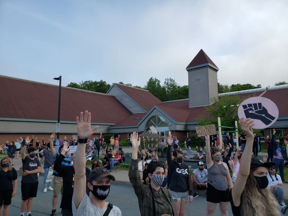 Black Lives Matter Rally in Spryfield June 17th, 2020