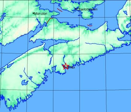 Aftershock shakes parts of Dartmouth, says Earthquakes Canada - HalifaxToday.ca