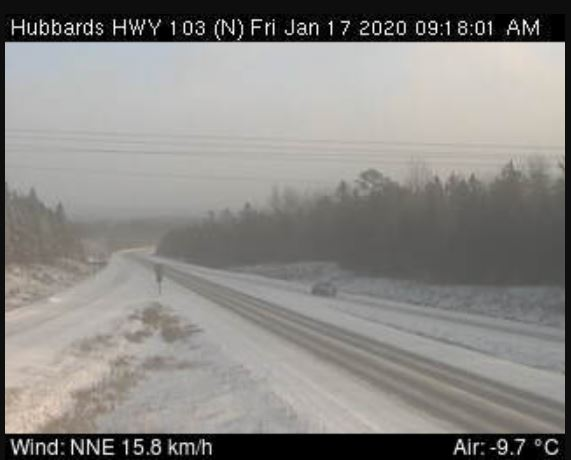 Whiteout conditions reported on highways around Halifax