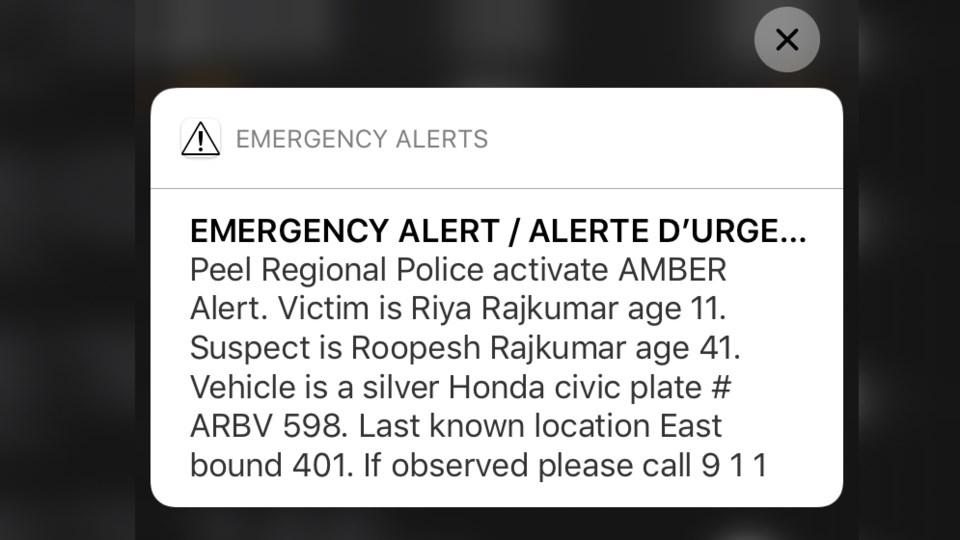 Amber-Alert-Text