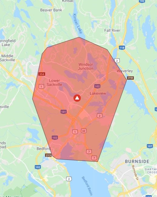 Thousands in the dark as a power interruption strikes parts of HRM (update)
