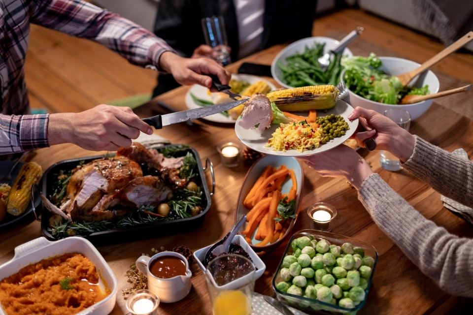 100720 - thanksgiving - christmas - turkey dinner - AdobeStock_294412127