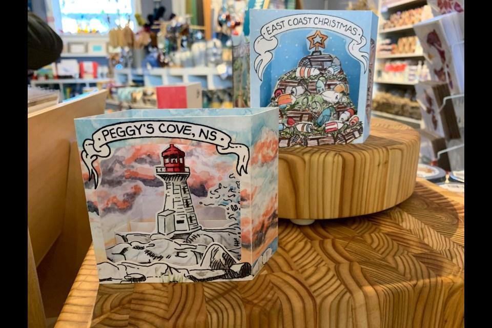 Pop up cards by Bardbardbard (Katie Hartai/HalifaxToday.ca)