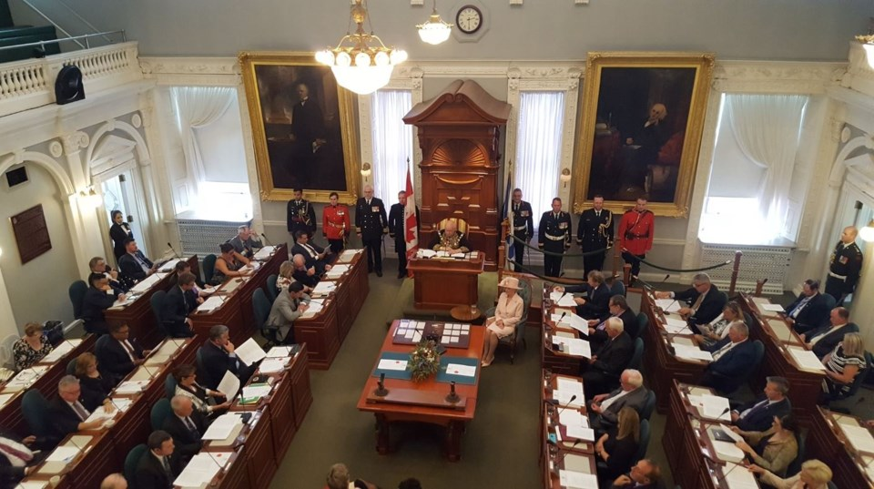 090618-legislature-throne speech-leblanc