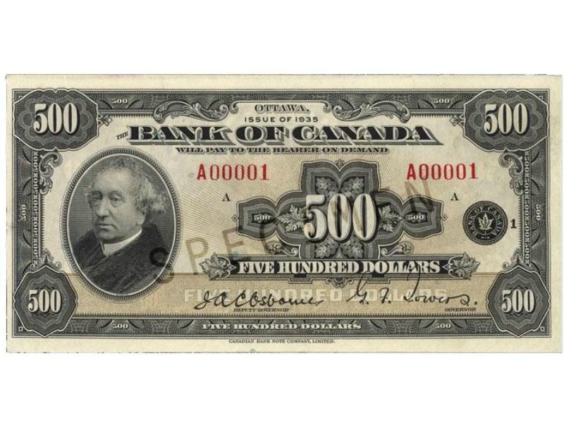 500 bill