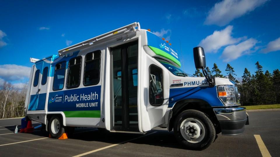 021721 - nova scotia health van -  Public Health mobile unit
